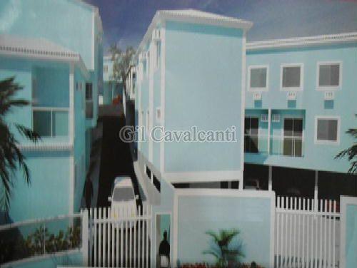 FOTO1 - Casa em Condominio Taquara,Rio de Janeiro,RJ À Venda,2 Quartos,85m² - CS1402 - 1