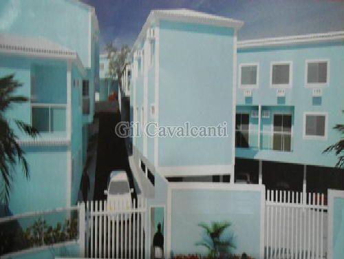 FOTO1 - Casa em Condomínio 3 quartos à venda Taquara, Rio de Janeiro - R$ 430.000 - CS1408 - 1