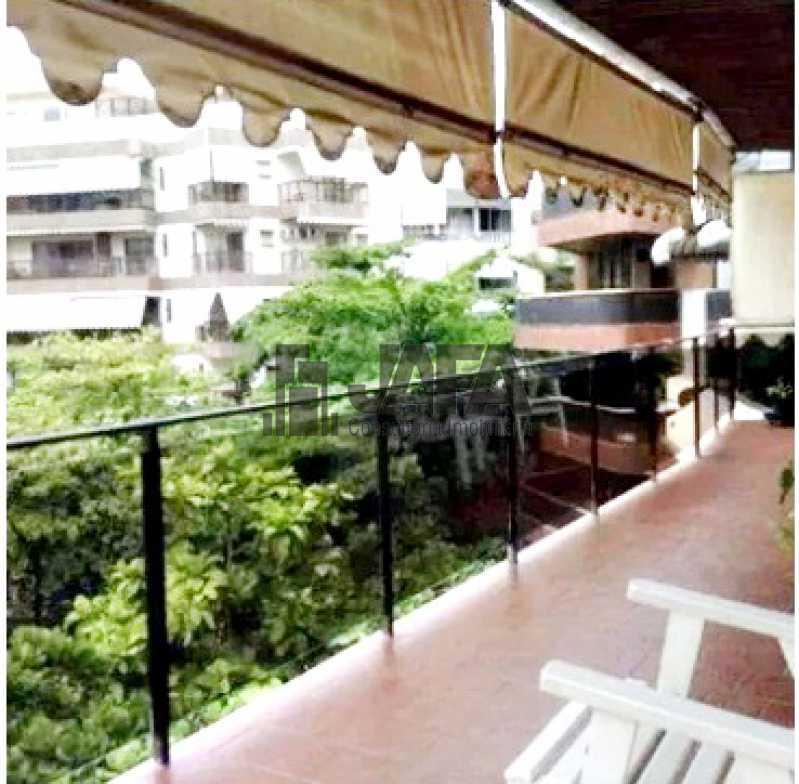 1 - Cobertura 3 quartos à venda Leblon, Rio de Janeiro - R$ 4.500.000 - JA50448 - 1