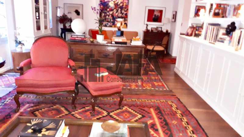 01 - Apartamento 4 quartos à venda Leblon, Rio de Janeiro - R$ 7.300.000 - JA41026 - 1