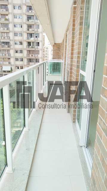 Varanda  - Apartamento Botafogo,Rio de Janeiro,RJ À Venda,3 Quartos,98m² - JA31411 - 7
