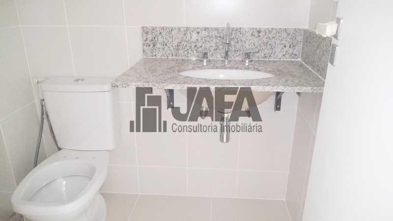 Banheiro Social  - Apartamento Botafogo,Rio de Janeiro,RJ À Venda,3 Quartos,98m² - JA31411 - 10