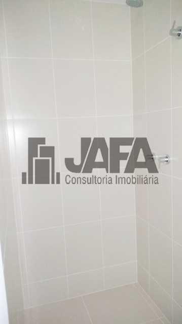 Banheiro Social  - Apartamento Botafogo,Rio de Janeiro,RJ À Venda,3 Quartos,98m² - JA31411 - 11