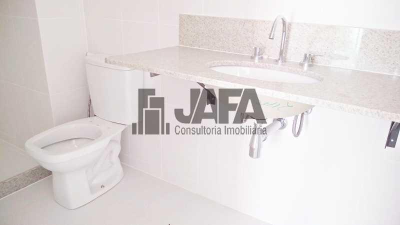 Suite Banheiro  - Apartamento Botafogo,Rio de Janeiro,RJ À Venda,3 Quartos,98m² - JA31411 - 20