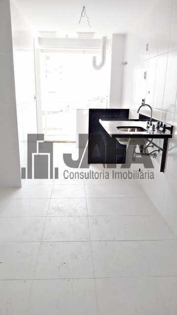 Cozinha  - Apartamento Botafogo,Rio de Janeiro,RJ À Venda,3 Quartos,98m² - JA31411 - 22
