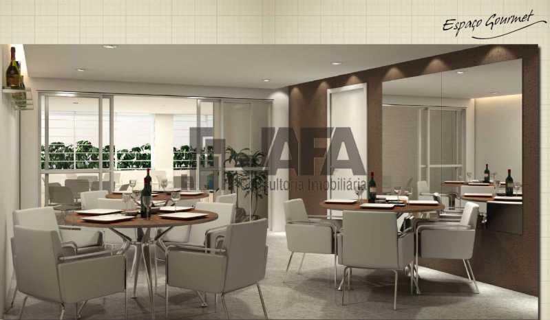 espaço gourmet - Apartamento Botafogo,Rio de Janeiro,RJ À Venda,3 Quartos,98m² - JA31411 - 25