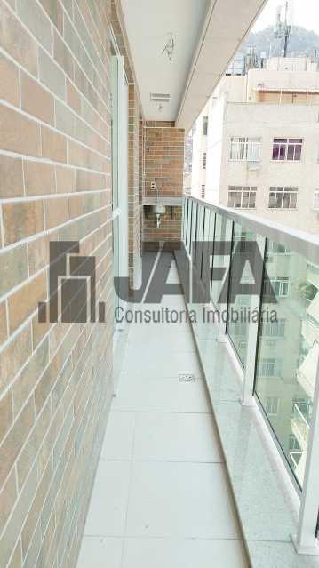 Varanda  - Apartamento 3 quartos à venda Botafogo, Rio de Janeiro - R$ 1.100.000 - JA31410 - 8
