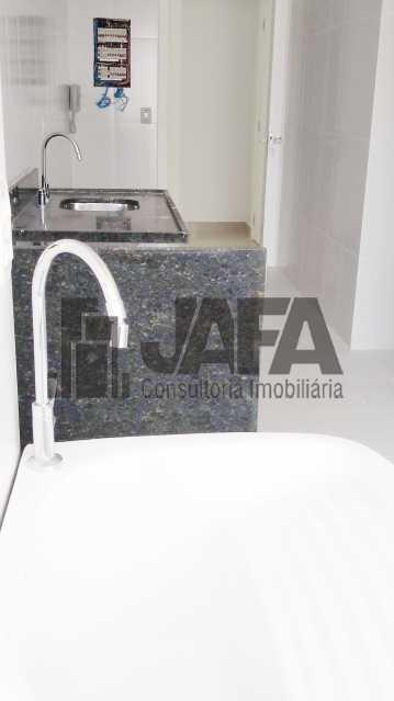 Cozinha  - Apartamento 3 quartos à venda Botafogo, Rio de Janeiro - R$ 1.100.000 - JA31410 - 23