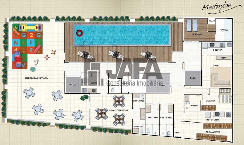 masterplan - Apartamento 3 quartos à venda Botafogo, Rio de Janeiro - R$ 1.100.000 - JA31410 - 26