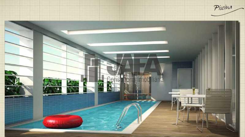 piscina - Apartamento 3 quartos à venda Botafogo, Rio de Janeiro - R$ 1.100.000 - JA31410 - 27