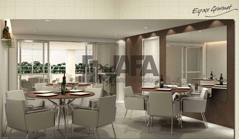 espaço gourmet - Apartamento Botafogo,Rio de Janeiro,RJ À Venda,3 Quartos,98m² - JA31409 - 25