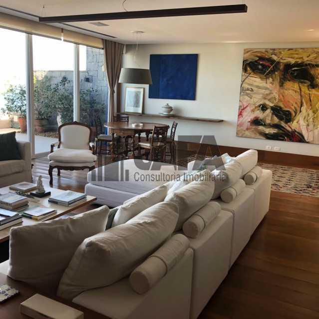 sala - Cobertura 3 quartos à venda Ipanema, Rio de Janeiro - R$ 17.000.000 - JA50463 - 3