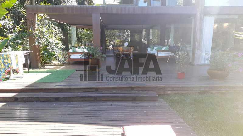 Entrada casa - Casa em Condomínio 4 quartos à venda Gávea, Rio de Janeiro - R$ 7.500.000 - JA60100 - 1