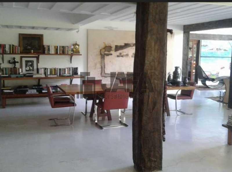 Sala jantar com varanda - Casa em Condomínio 4 quartos à venda Gávea, Rio de Janeiro - R$ 7.500.000 - JA60100 - 3