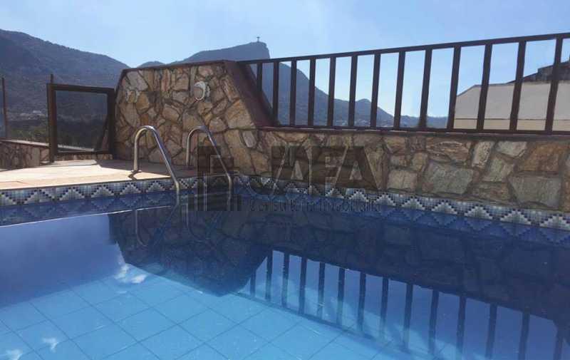 01 - Cobertura 3 quartos À venda Leblon, Rio de Janeiro - R$ 4.490.000 - JA50405 - 1