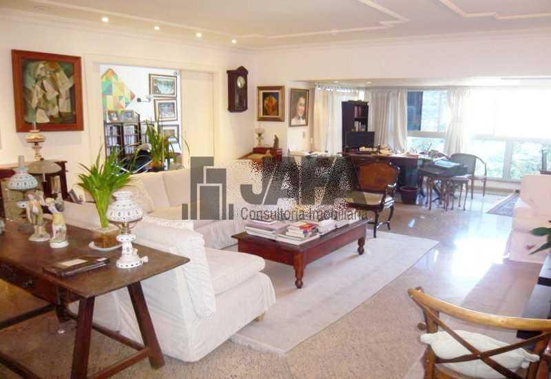 02 - Apartamento 5 quartos à venda Gávea, Rio de Janeiro - R$ 2.800.000 - JA40960 - 3