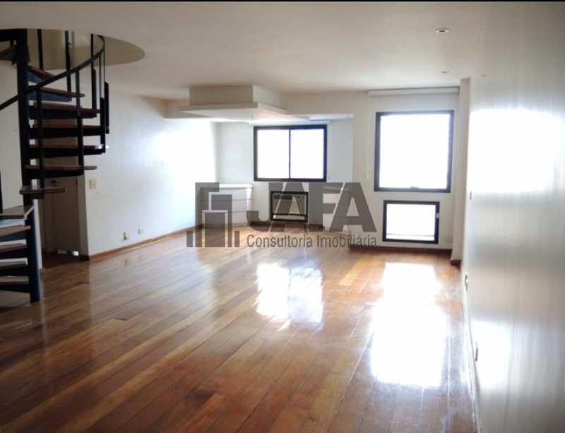 01 - Cobertura 3 quartos à venda Leblon, Rio de Janeiro - R$ 4.800.000 - JA50423 - 1