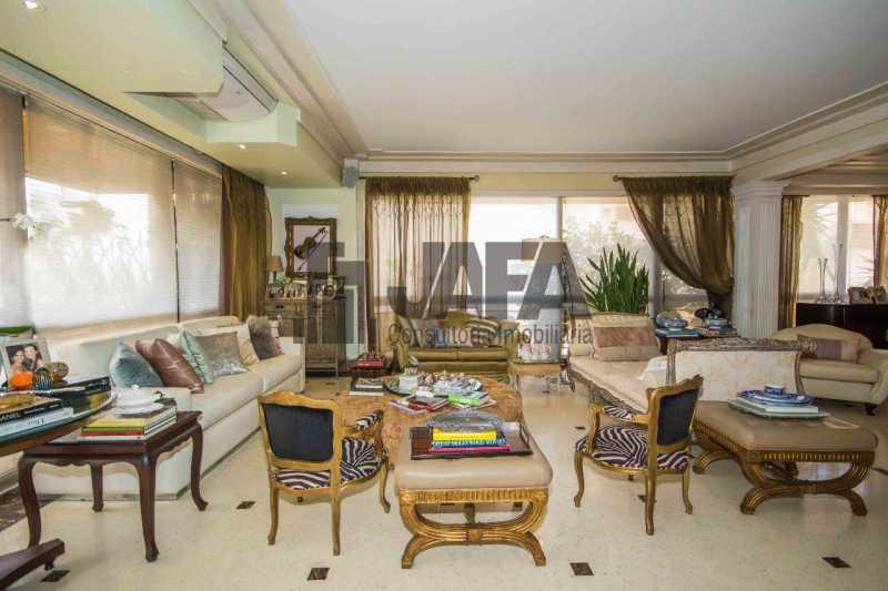 01 - Apartamento Leblon,Rio de Janeiro,RJ À Venda,4 Quartos,326m² - JA40972 - 1