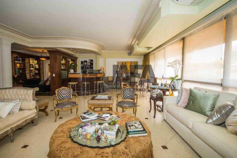 02 - Apartamento Leblon,Rio de Janeiro,RJ À Venda,4 Quartos,326m² - JA40972 - 3