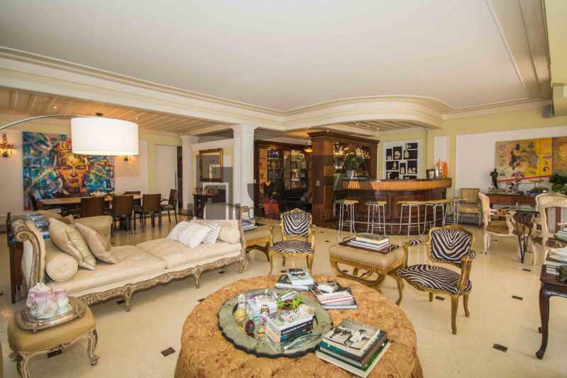 03 - Apartamento Leblon,Rio de Janeiro,RJ À Venda,4 Quartos,326m² - JA40972 - 4