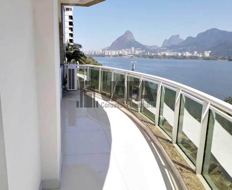 01 - Apartamento Lagoa,Rio de Janeiro,RJ À Venda,3 Quartos,129m² - JA31335 - 1