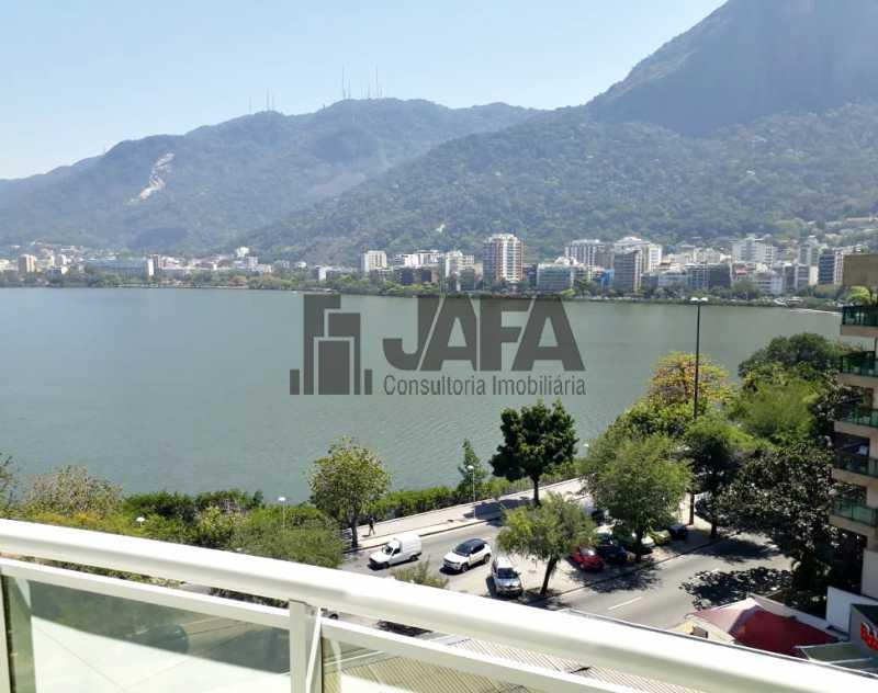 02 - Apartamento Lagoa,Rio de Janeiro,RJ À Venda,3 Quartos,129m² - JA31335 - 3
