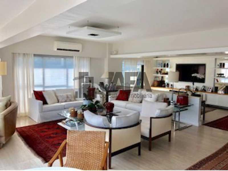 02 - Apartamento Lagoa,Rio de Janeiro,RJ À Venda,3 Quartos,200m² - JA40996 - 1