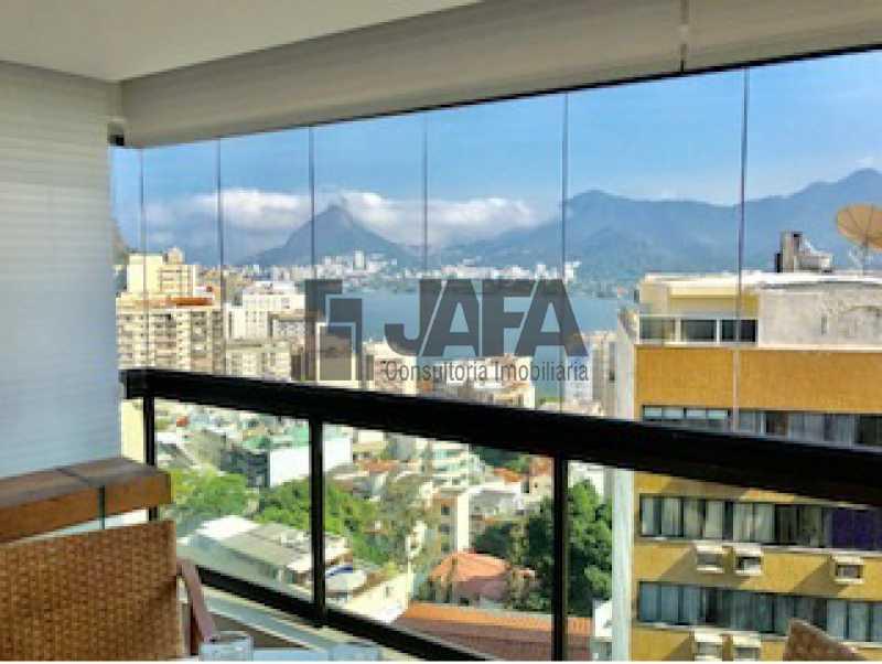 03 - Apartamento Lagoa,Rio de Janeiro,RJ À Venda,3 Quartos,200m² - JA40996 - 4
