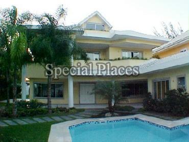 FACHADA - Casa em Condomínio 5 quartos à venda Barra da Tijuca, Rio de Janeiro - R$ 6.000.000 - BAC3623 - 1