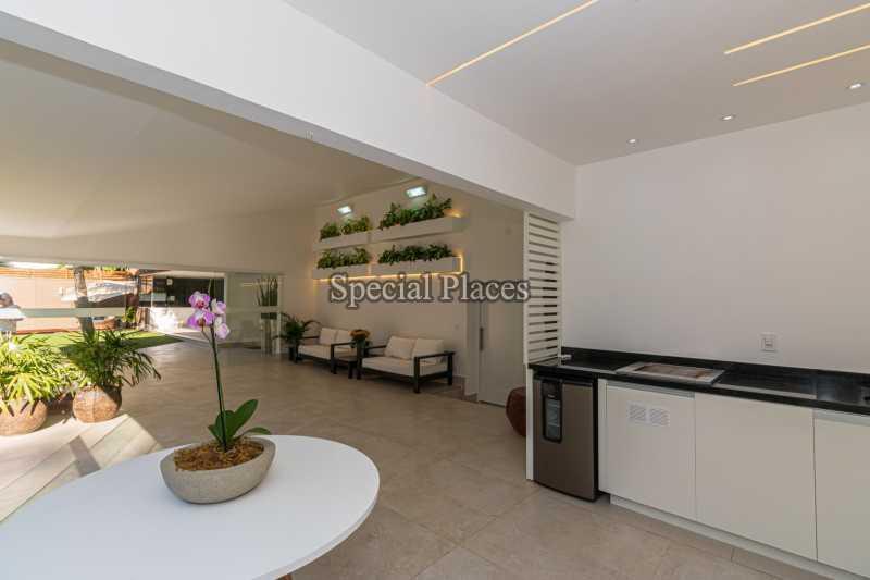 LAZER FRENTE - Casa em Condomínio 4 quartos à venda Itanhangá, Rio de Janeiro - R$ 5.200.000 - BAC3858 - 4