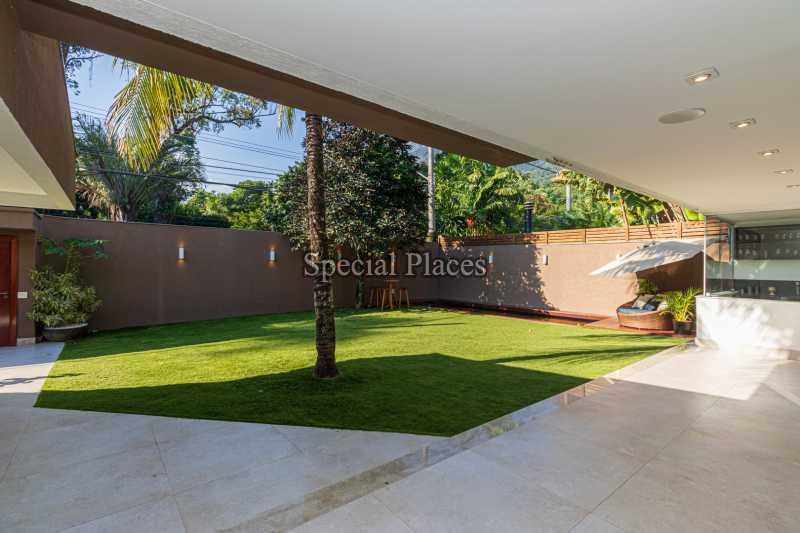 FRENTE CASA  - Casa em Condomínio 4 quartos à venda Itanhangá, Rio de Janeiro - R$ 5.200.000 - BAC3858 - 6