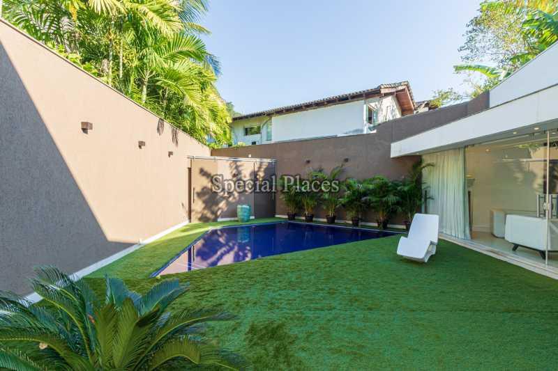 PISCINA  - Casa em Condomínio 4 quartos à venda Itanhangá, Rio de Janeiro - R$ 5.200.000 - BAC3858 - 8