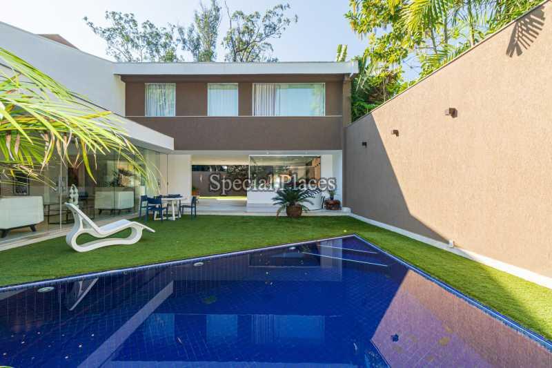 PISCINA - Casa em Condomínio 4 quartos à venda Itanhangá, Rio de Janeiro - R$ 5.200.000 - BAC3858 - 10