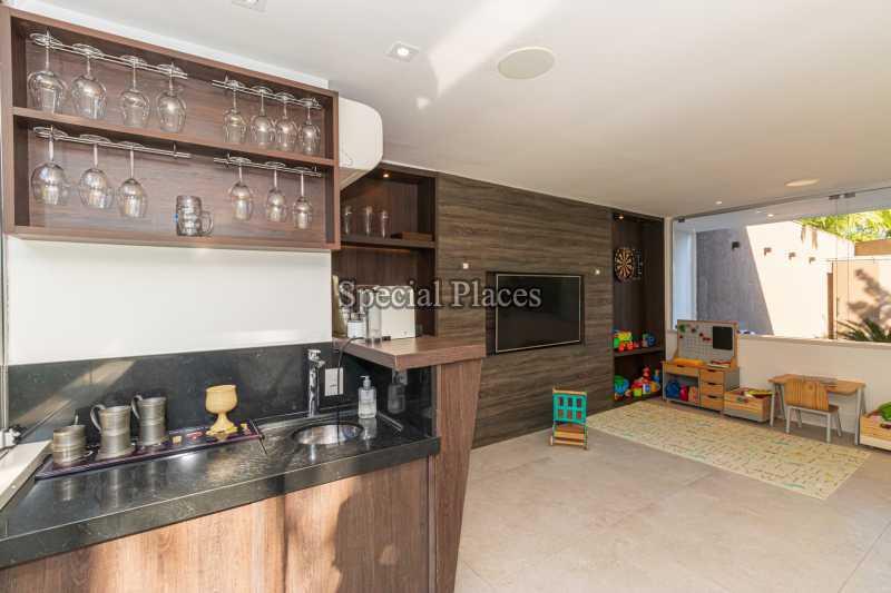 ANEXO BAR  - Casa em Condomínio 4 quartos à venda Itanhangá, Rio de Janeiro - R$ 5.200.000 - BAC3858 - 11