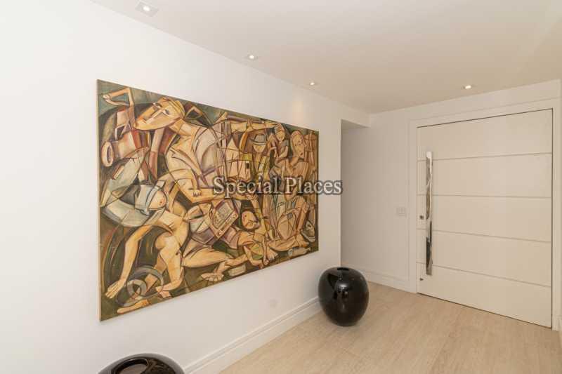 HALL ENTRADA  - Casa em Condomínio 4 quartos à venda Itanhangá, Rio de Janeiro - R$ 5.200.000 - BAC3858 - 13