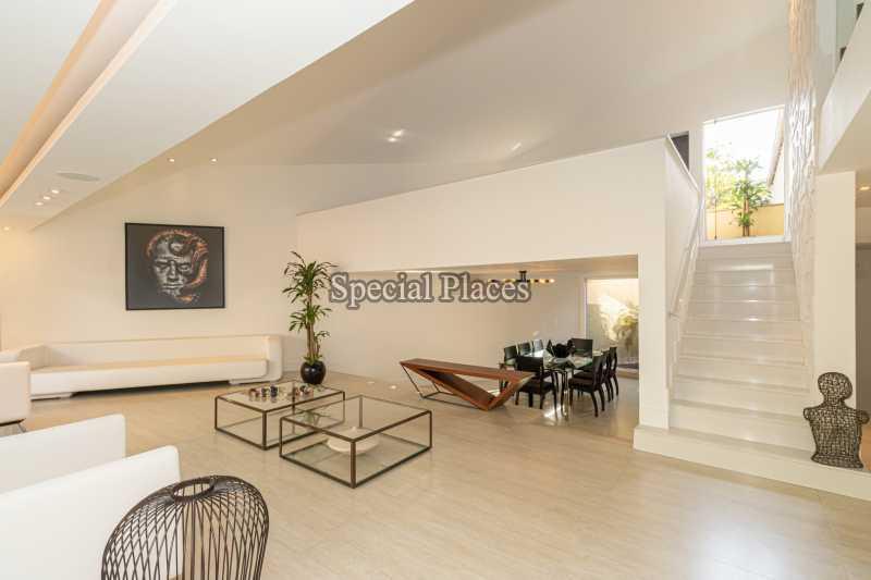 SALÃO  - Casa em Condomínio 4 quartos à venda Itanhangá, Rio de Janeiro - R$ 5.200.000 - BAC3858 - 14