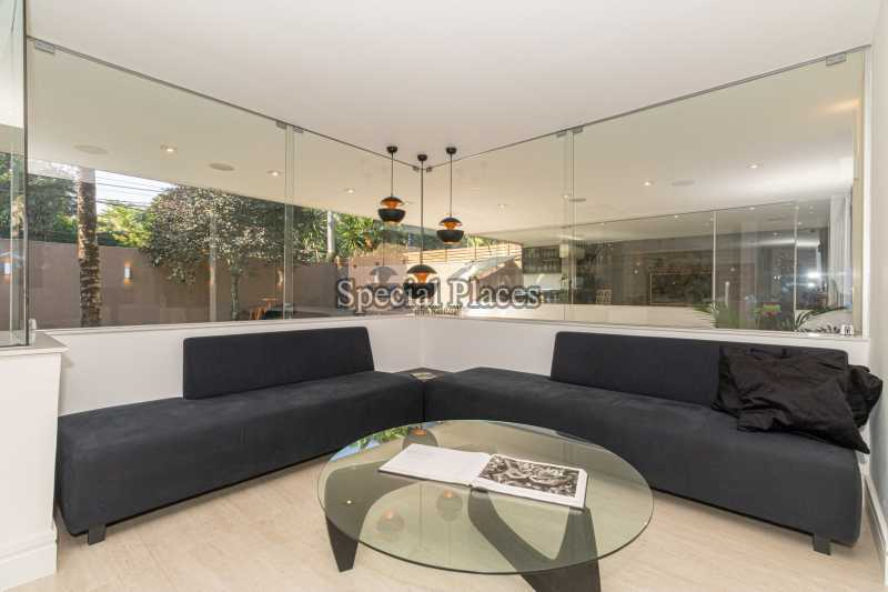SALÃO  - Casa em Condomínio 4 quartos à venda Itanhangá, Rio de Janeiro - R$ 5.200.000 - BAC3858 - 15