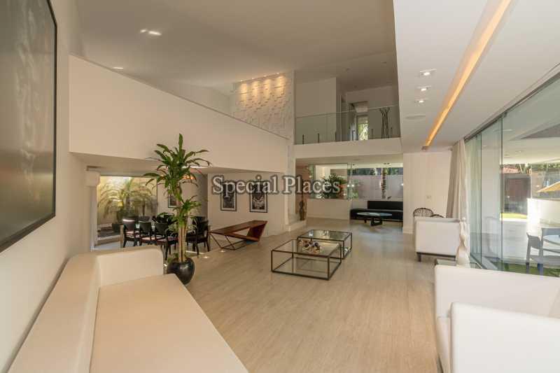 SALÃO  - Casa em Condomínio 4 quartos à venda Itanhangá, Rio de Janeiro - R$ 5.200.000 - BAC3858 - 16