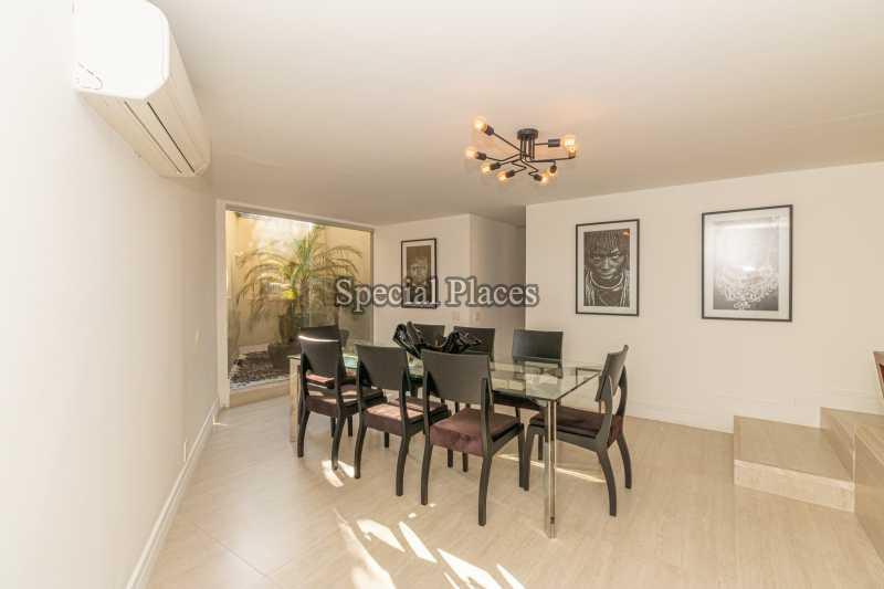 SALA DE JANTAR  - Casa em Condomínio 4 quartos à venda Itanhangá, Rio de Janeiro - R$ 5.200.000 - BAC3858 - 18