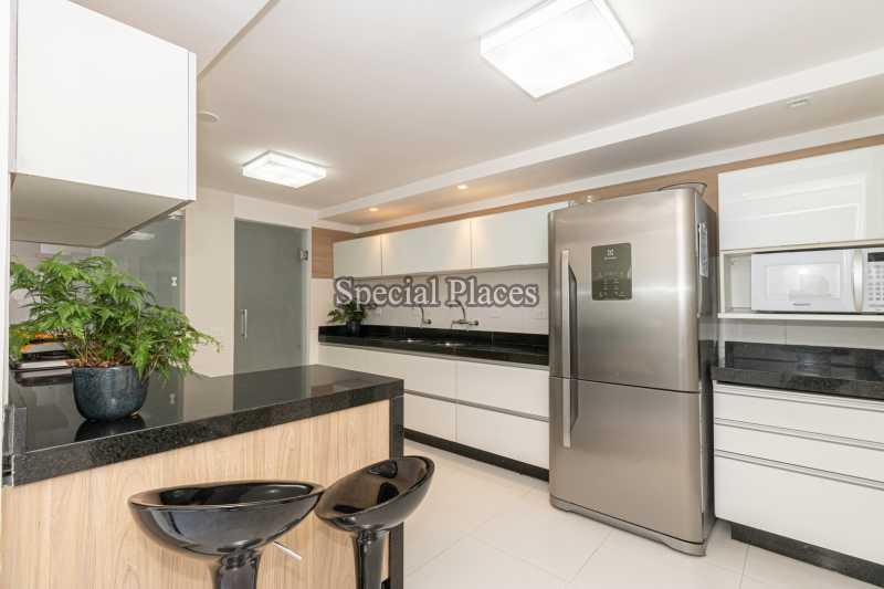 COZINHA  - Casa em Condomínio 4 quartos à venda Itanhangá, Rio de Janeiro - R$ 5.200.000 - BAC3858 - 20