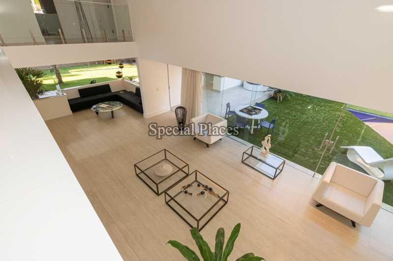 SALÃO  - Casa em Condomínio 4 quartos à venda Itanhangá, Rio de Janeiro - R$ 5.200.000 - BAC3858 - 17