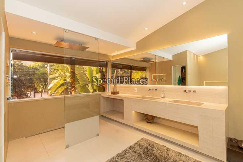 BANHEIRO MASTER  - Casa em Condomínio 4 quartos à venda Itanhangá, Rio de Janeiro - R$ 5.200.000 - BAC3858 - 29