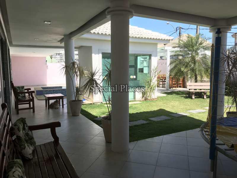 VARANDÃO - Casa em Condomínio 5 quartos à venda Recreio dos Bandeirantes, Rio de Janeiro - R$ 2.200.000 - BAC5470 - 4