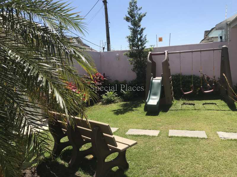 JARDIM - Casa em Condomínio 5 quartos à venda Recreio dos Bandeirantes, Rio de Janeiro - R$ 2.200.000 - BAC5470 - 5
