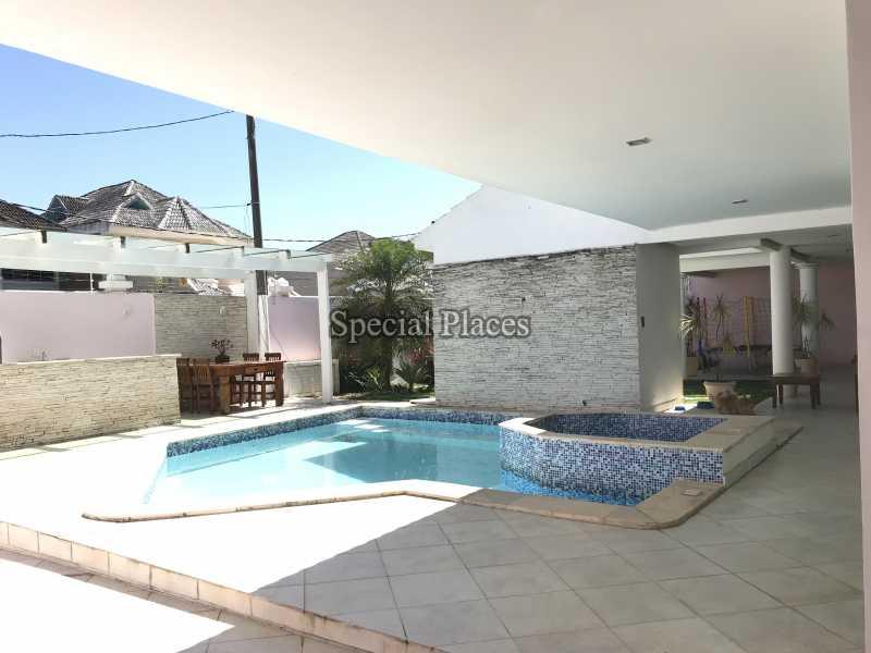 PISCINA COM HIDRO - Casa em Condomínio 5 quartos à venda Recreio dos Bandeirantes, Rio de Janeiro - R$ 2.200.000 - BAC5470 - 6