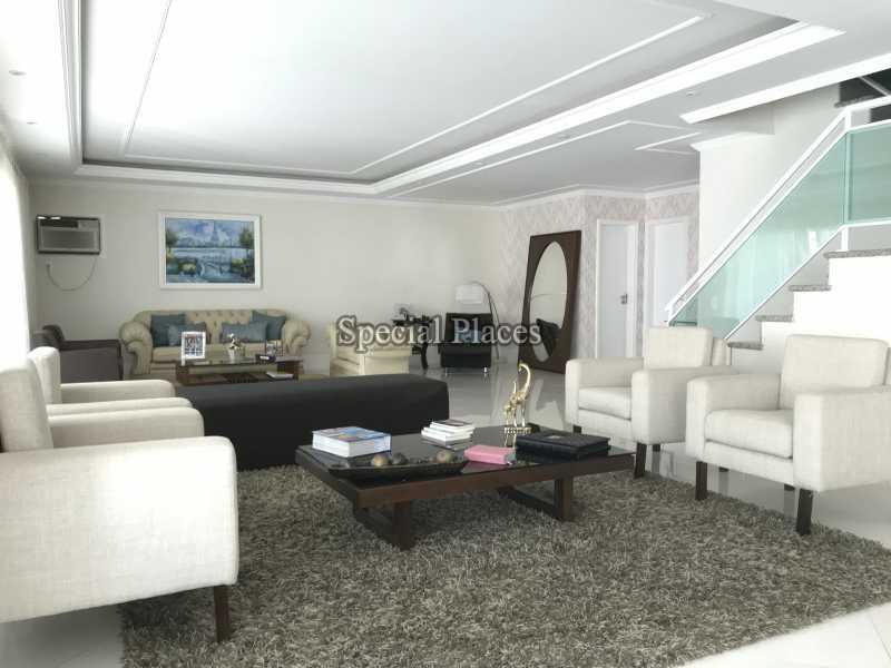 SALÃO - Casa em Condomínio 5 quartos à venda Recreio dos Bandeirantes, Rio de Janeiro - R$ 2.200.000 - BAC5470 - 13
