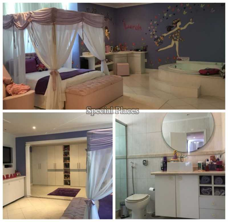 SUÍTE MASTER - Casa em Condomínio 5 quartos à venda Recreio dos Bandeirantes, Rio de Janeiro - R$ 2.200.000 - BAC5470 - 15