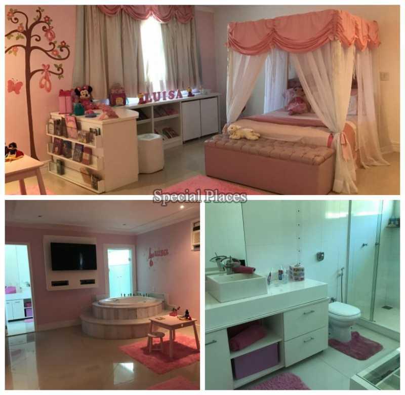 SUÍTE MASTER - Casa em Condomínio 5 quartos à venda Recreio dos Bandeirantes, Rio de Janeiro - R$ 2.200.000 - BAC5470 - 16