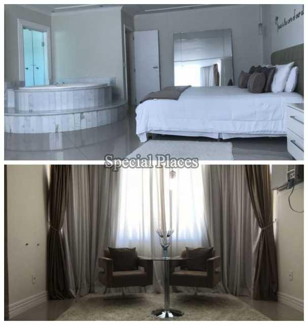 SUÍTE MASTER CASAL - Casa em Condomínio 5 quartos à venda Recreio dos Bandeirantes, Rio de Janeiro - R$ 2.200.000 - BAC5470 - 17