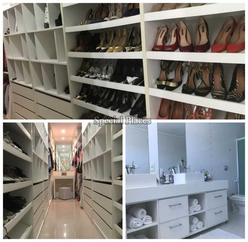 CLOSET E BANHEIRO SUÍTE CA - Casa em Condomínio 5 quartos à venda Recreio dos Bandeirantes, Rio de Janeiro - R$ 2.200.000 - BAC5470 - 18